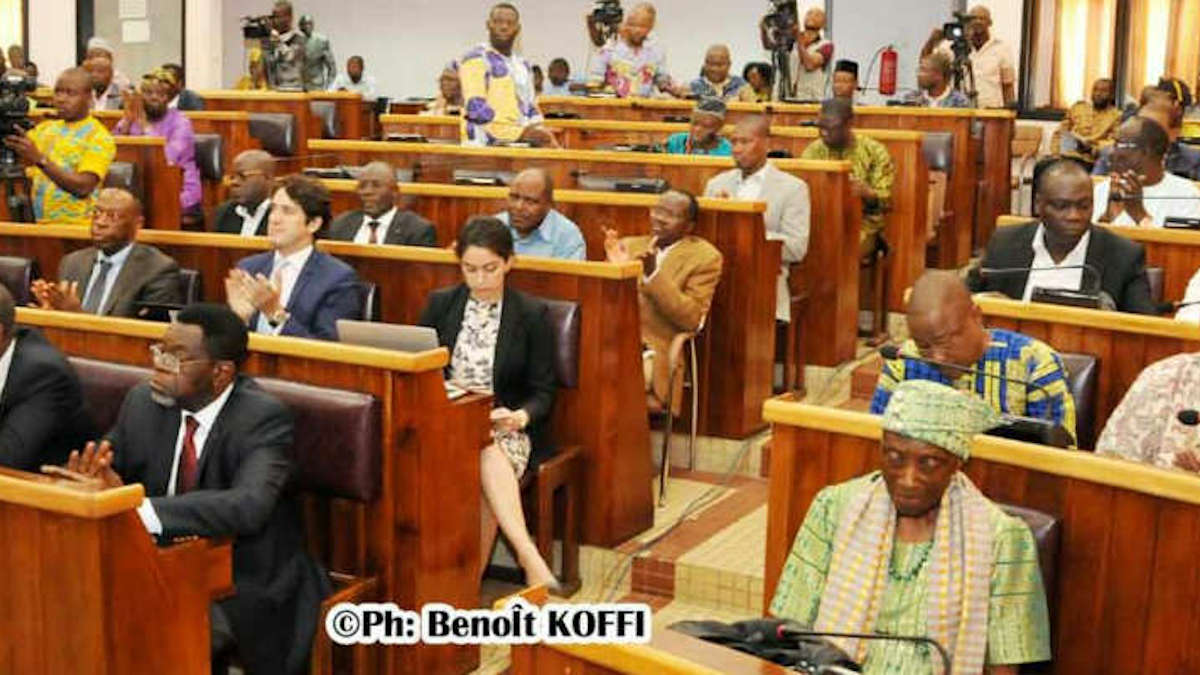 Bénin- Assemblée nationale : Neuf députés de l'opposition créent un nouveau groupe parlementaire