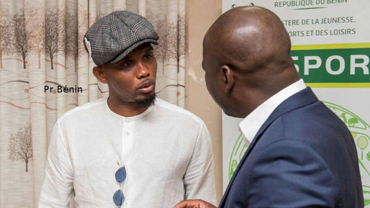 Samuel Eto'o veut accompagner la relance du sport béninois