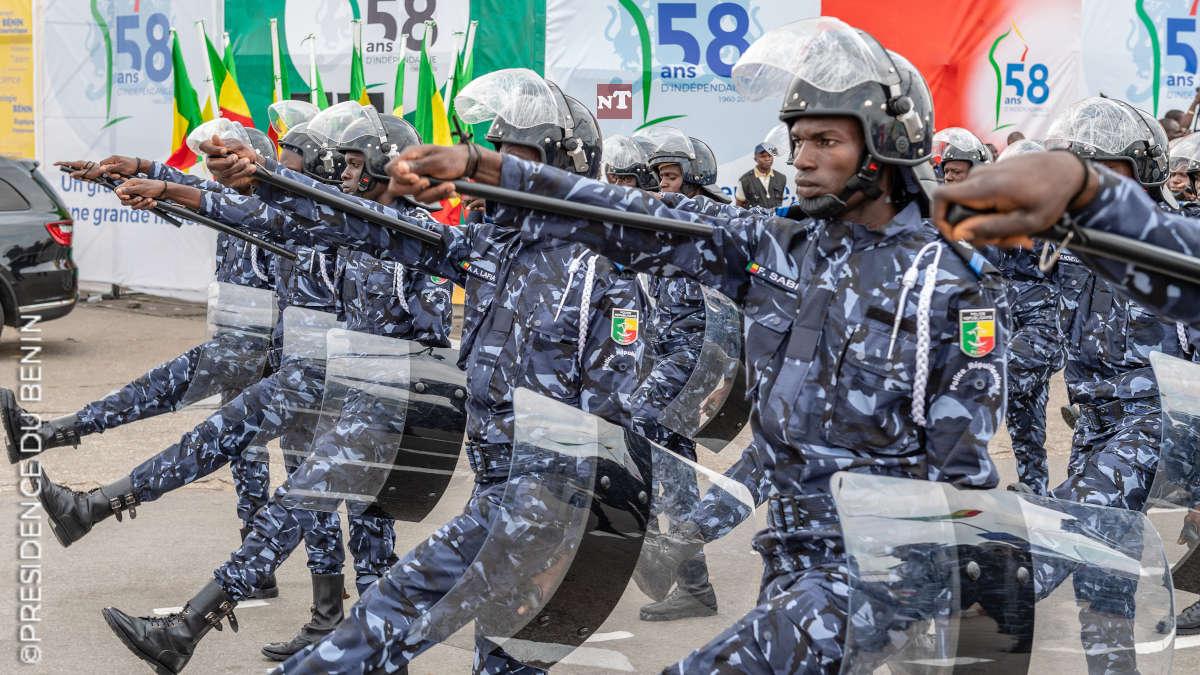 Bénin – Marche du FSP : La police tire des balles à blanc sur les manifestants