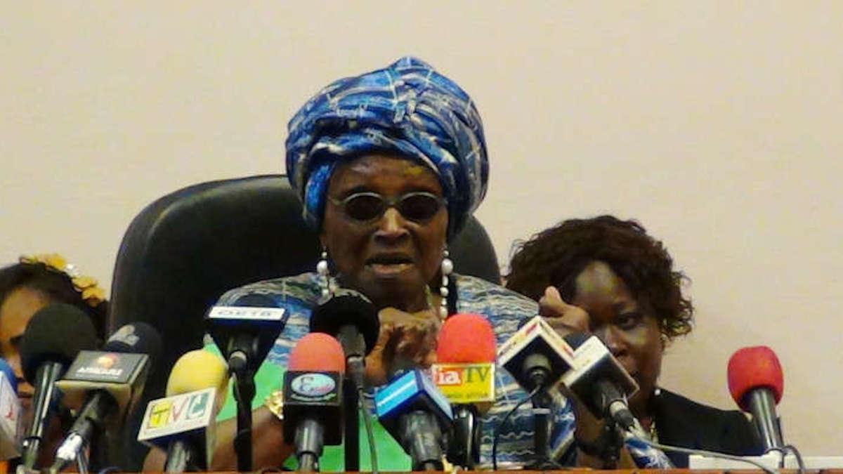 Révision de la Constitution : Rosine Soglo dénonce un projet « liberticide, taillé sur mesure »