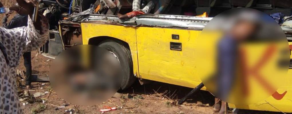 Bénin : Collision macabre sur l'axe N'dali-Guessou Sud, des morts et de nombreux blessés