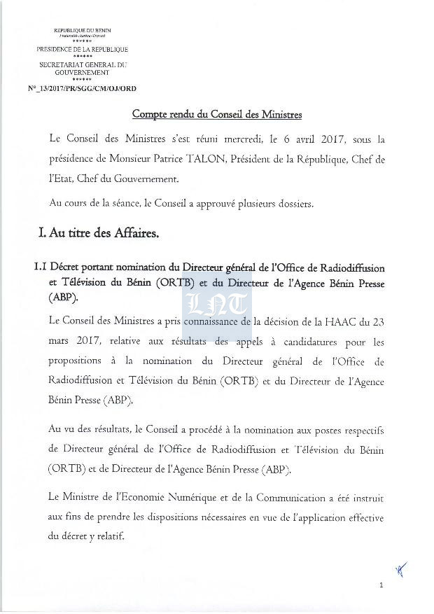 conseil 6avril page 001 - nominations constitution