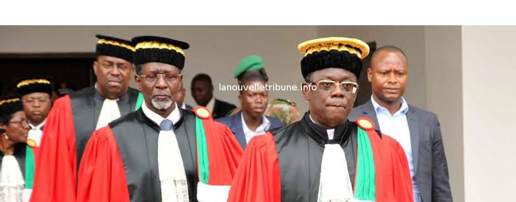 Déchéance du Président Talon: La cour se déclare incompétente