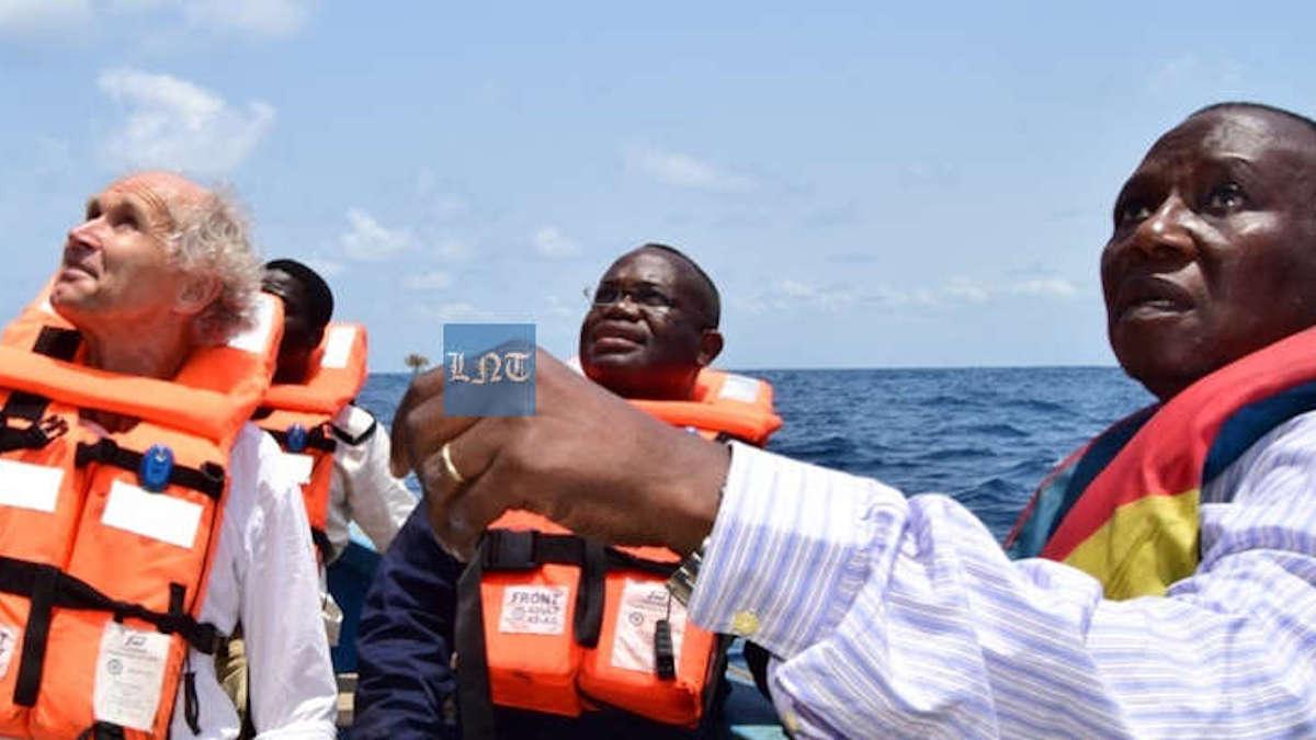 Fuites en haute mer: Jean-Claude HOUSSOU constate la dégradation des infrastructures