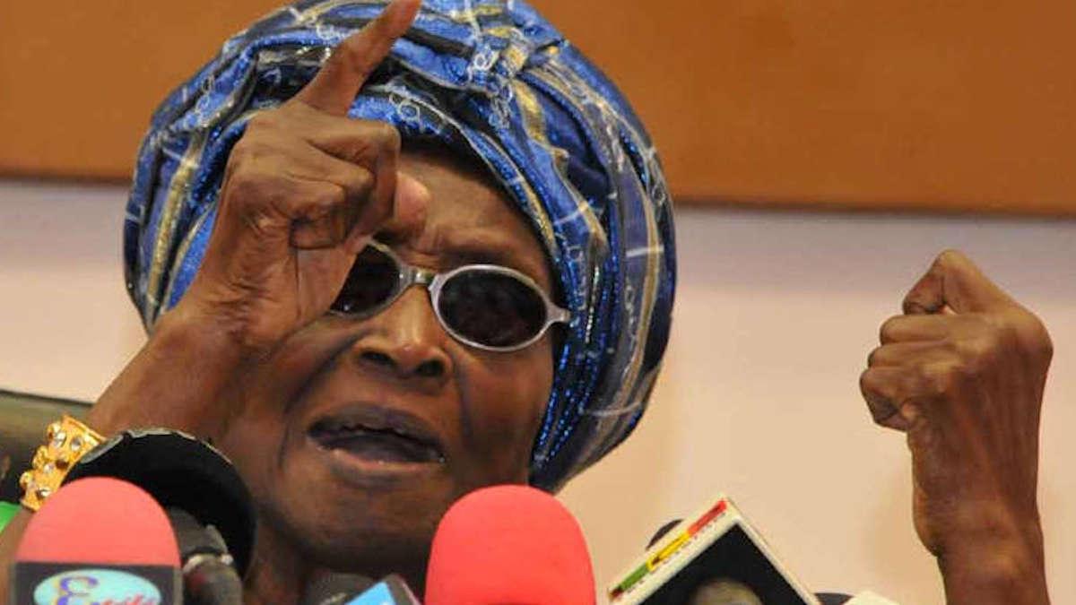 Crise à la RB : Pour Rosine Soglo, il s'agit de représailles après le rejet du projet de constitution