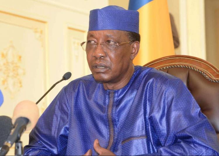 Idriss Deby (Ph : BRAHIM ADJI / AFP)