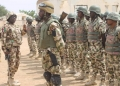 Des soldats nigérians