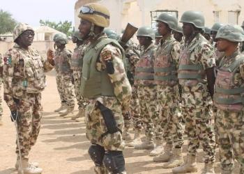 Des soldats nigérians (Photo / Twitter / Armée nigériane)