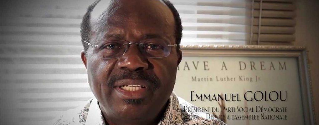 Bénin – Interdiction du congrès du PSD : Emmanuel Golou saisit la justice