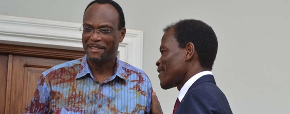 Bénin : Candide Azannaï se rend au domicile de Léhady Soglo