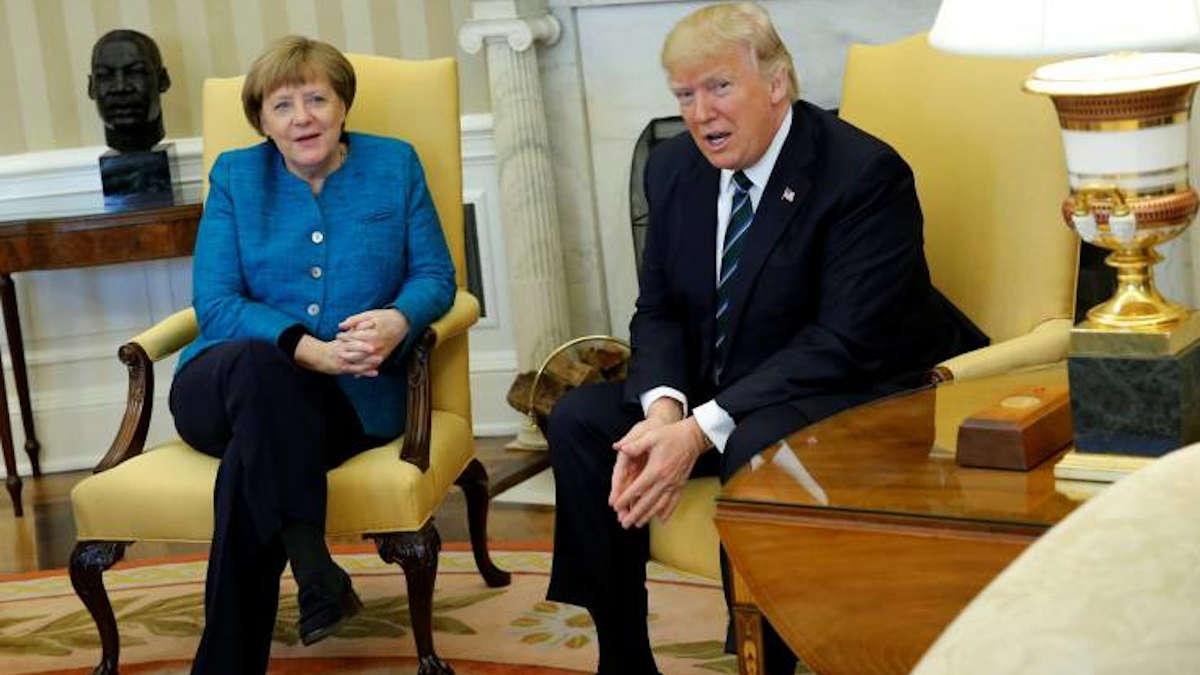 USA – Allemagne : le torchon brûle entre Merkel et Trump