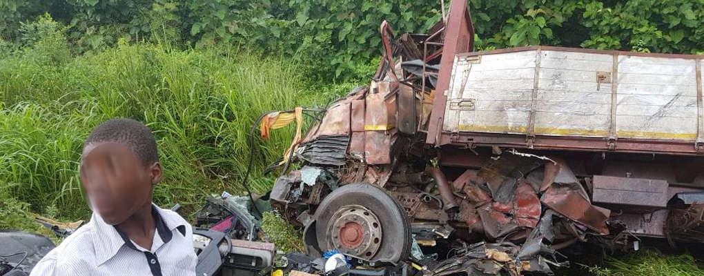 Bénin: Collision entre un bus et un Camion à Zogbodomey
