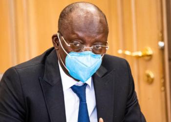 """Le ministre Bio Tchané, Secrétaire Général National du parti """"Bloc Républicain"""""""