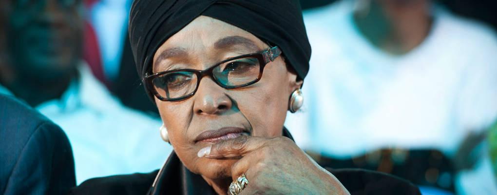 Winnie Mandela: cette grande combattante abandonnée