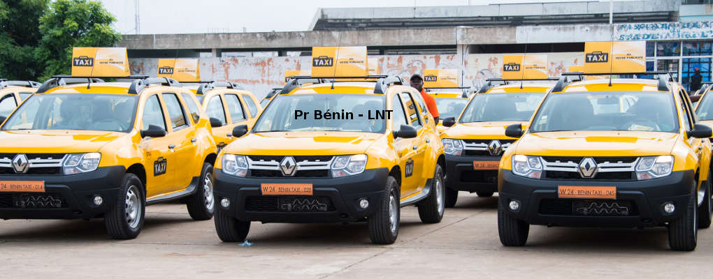 Bénin Taxi : Une nouvelle flotte de 203 véhicules mise en circulation