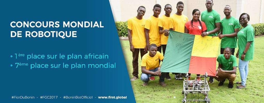 Concours mondial de robotique: Le gouvernement félicite l'équipe béninoise