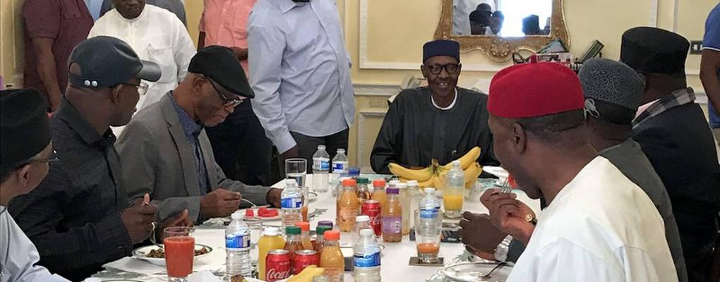 Nigéria : des manifestants demandent à Buhari de rentrer ou de démissionner