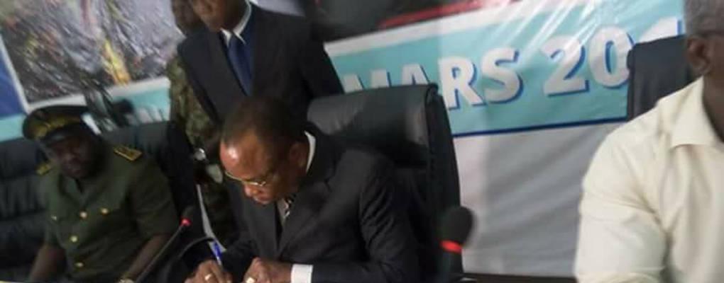 Bénin : Installation de Gnonlonfoun Isidore, nouveau maire par intérim de Cotonou