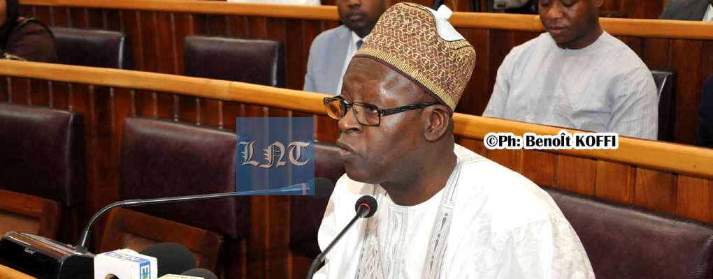 Bénin : Le ministre Abdoulaye Bio Tchané présente le Pip 2019 aux députés
