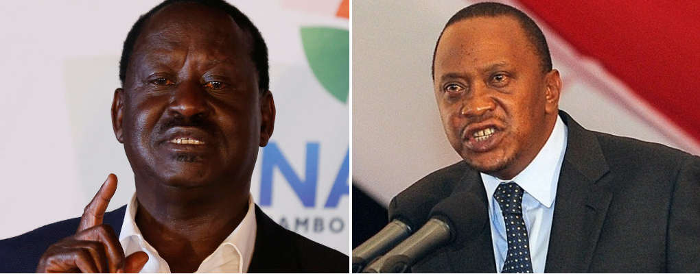 Kenya: Kenyatta parle d'une possibilité de destitution de Raila s'il est élu