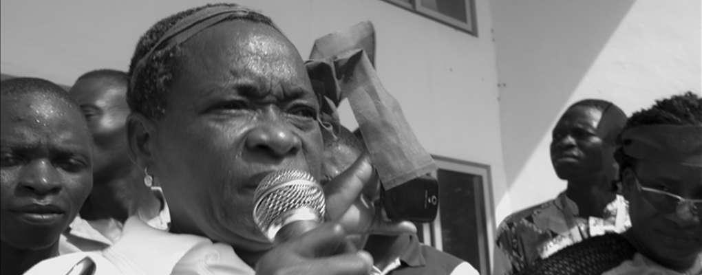 Bénin: marche de Thérèse Waounwa et des femmes des marchés sur la présidence
