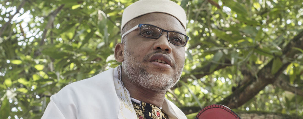 Nigéria : Nnamdi Kanu chef des indépendantistes du Biafra porté disparu