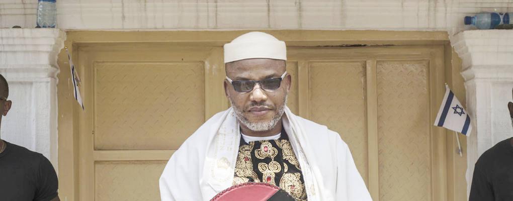 Nigéria : Nnamdi Kanu, chef des indigènes du Biafra menace le gouvernement de Buhari