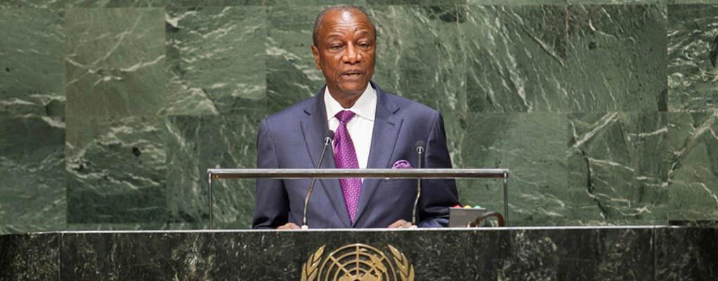Représentativité de l'Afrique: A l'ONU, Alpha Condé exige l'élargissement du conseil de sécurité