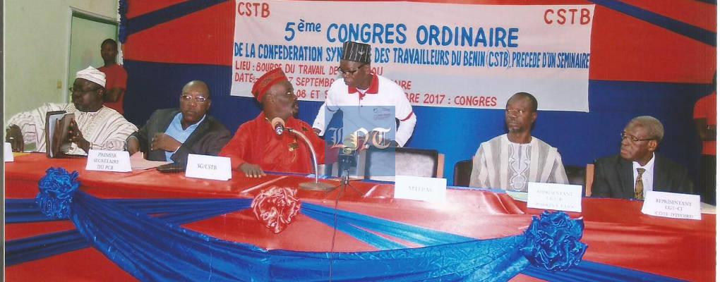 Bénin : communiqué final du 5e congrès de la CSTB (Liste des membres du bureau)