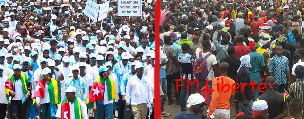 Togo: De nouvelles manifestations de l'opposition cette semaine