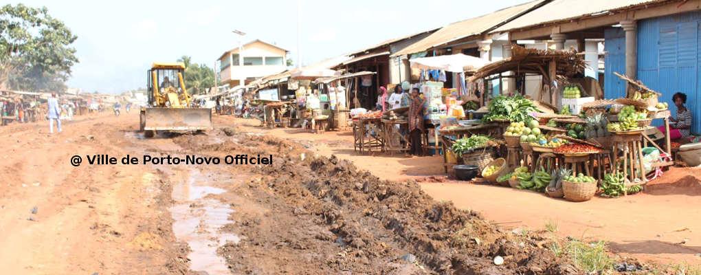 Porto-Novo : « Toutes les voies seront reprofilées » dixit Gilbert Ahouansou