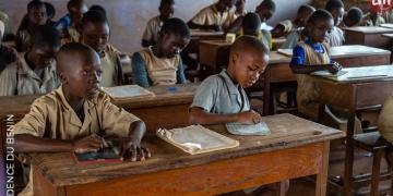 Des écoliers (photo d'illustration : PR Bénin)