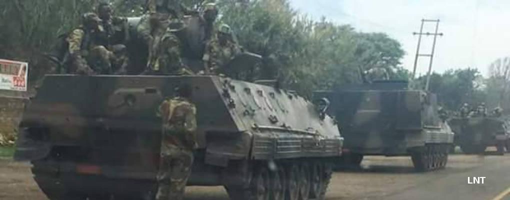Tensions au Zimbabwe : des chars de l'armée en route vers la capitale (vidéo)
