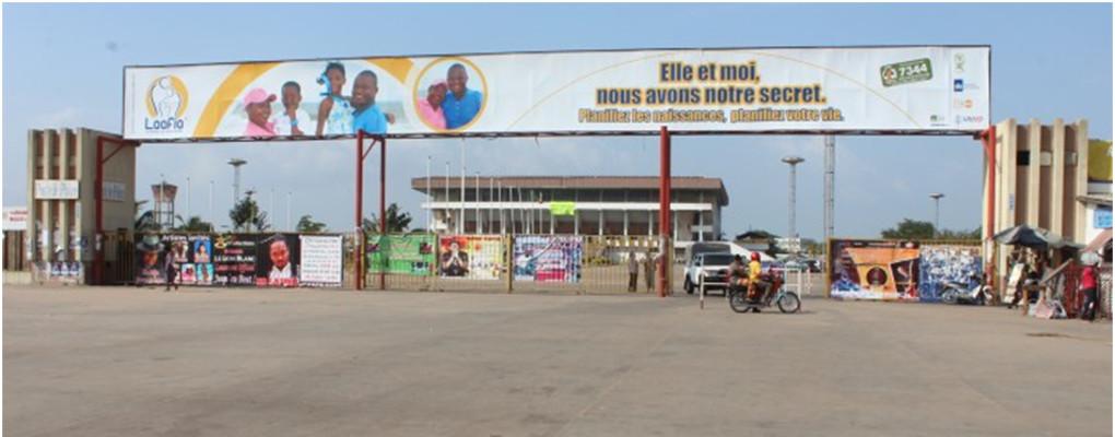 Sécurité au stade Mathieu Kérékou : Le commandant Joachim Akpovi met la main à la pâte