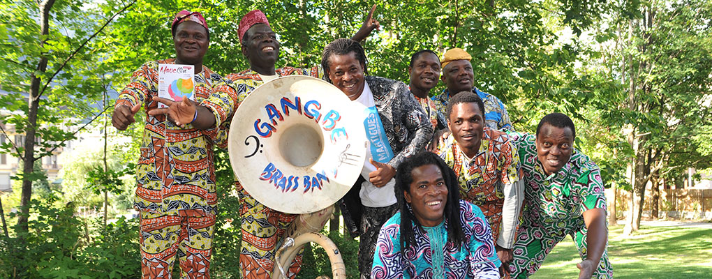 Meilleurs instrumentistes d'Afrique: Hommage à King Mensah et Gangbé Brass Band