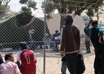 Photo d'illustration : des migrants