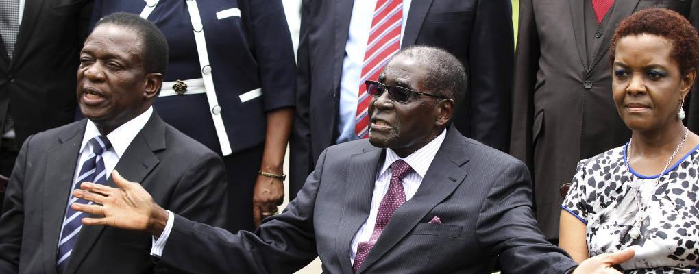 Zimbabwe : l'armée met en garde Grace et Robert mugabe