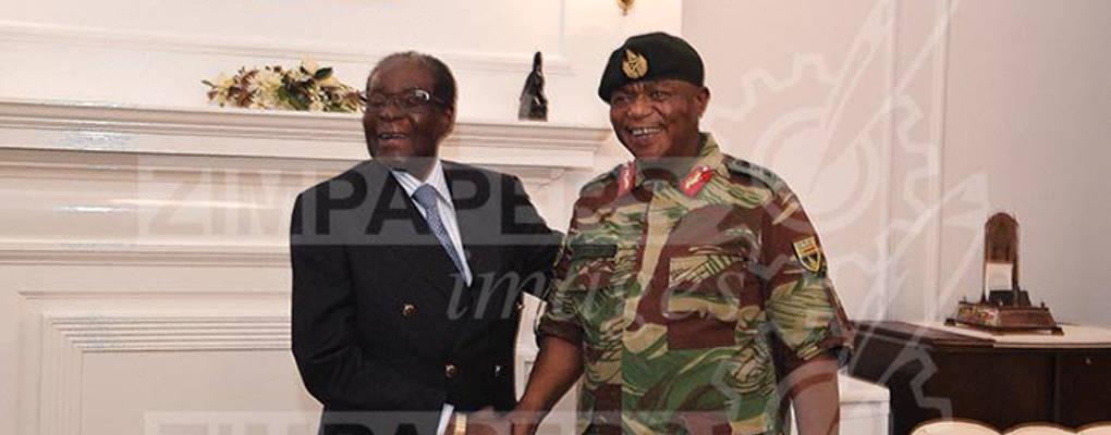 Zimbabwe : Robert Mugabe rencontre le Chef de l'armée mais refuse de démissionner