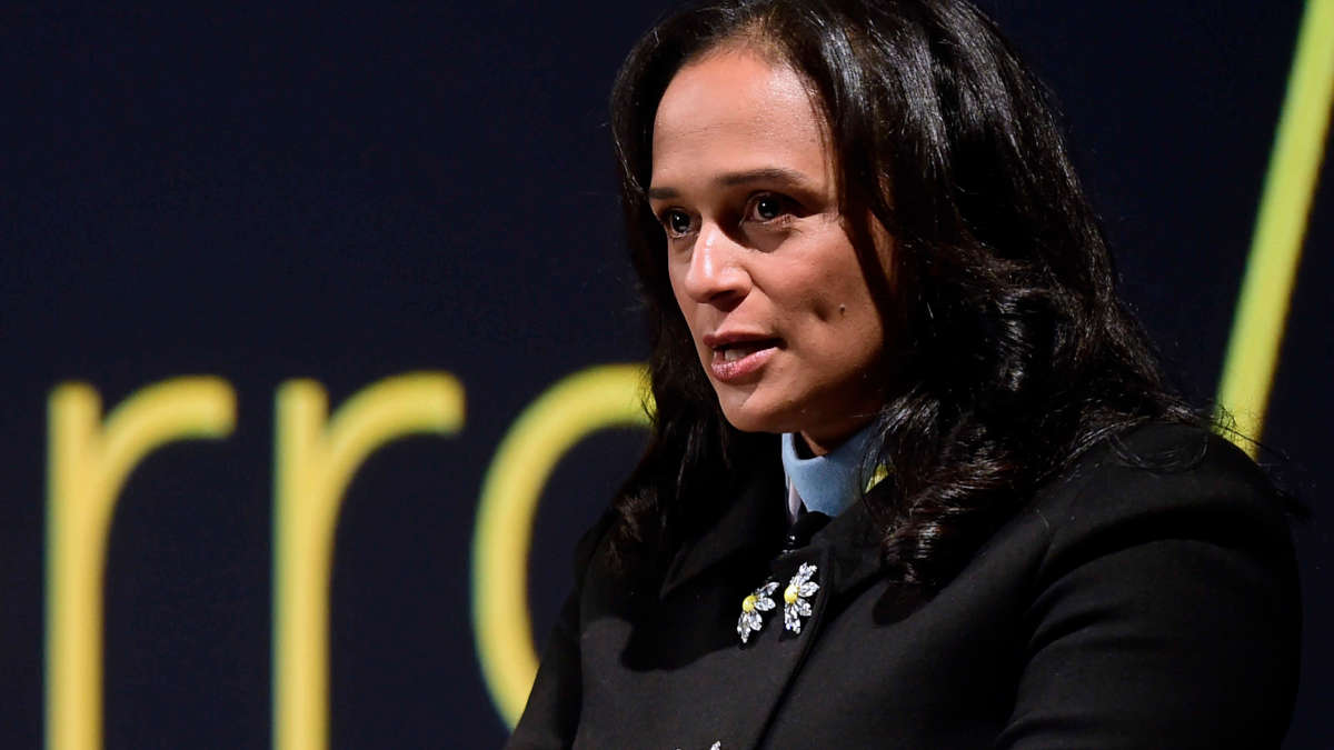 Isabel dos Santos (Photo DR)