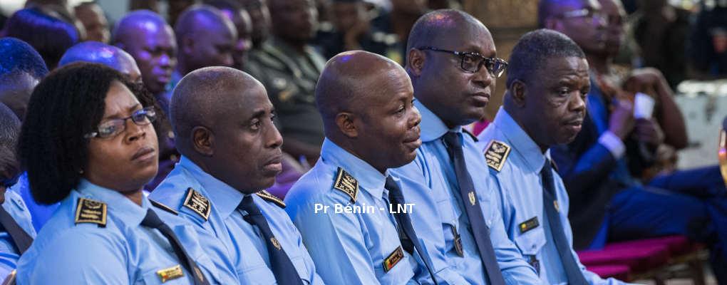 Police Républicaine au Bénin: Liste, grades et postes des agents nommés
