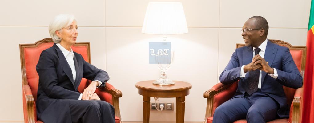 Christine Lagarde voit le Bénin atteindre 6% de croissance en 2018 (vidéo)