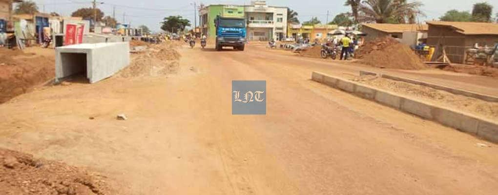 Polémiques autours des travaux de COLODO : Le carrefour Glo oppose les riverains et EBOMAF à Lokossa