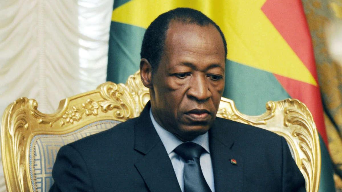 Blaise Compaoré (Sia Kambou, AFP)