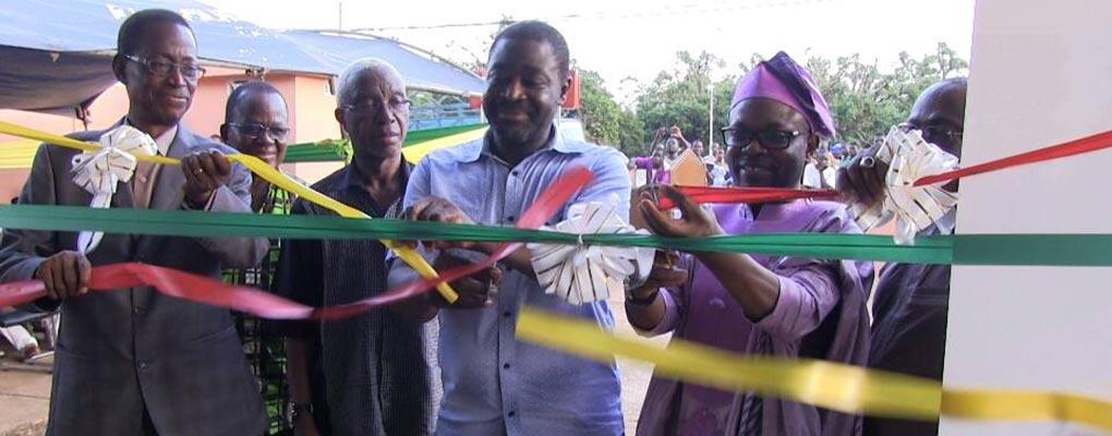Bénin: La Fondation Conrad Gbaguidi dote Savalou d'un Centre numérique