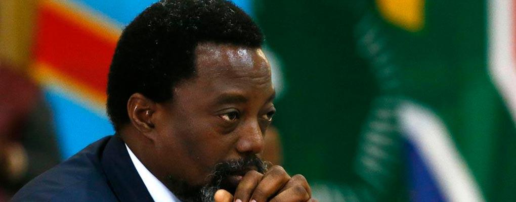 RDC : Kabila veut le retrait des forces armées de l'Onu