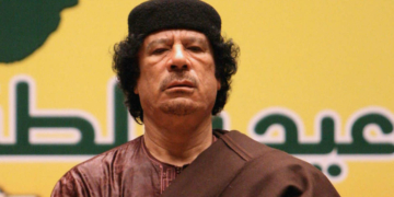 Mouammar Kadhafi (Photo DR)