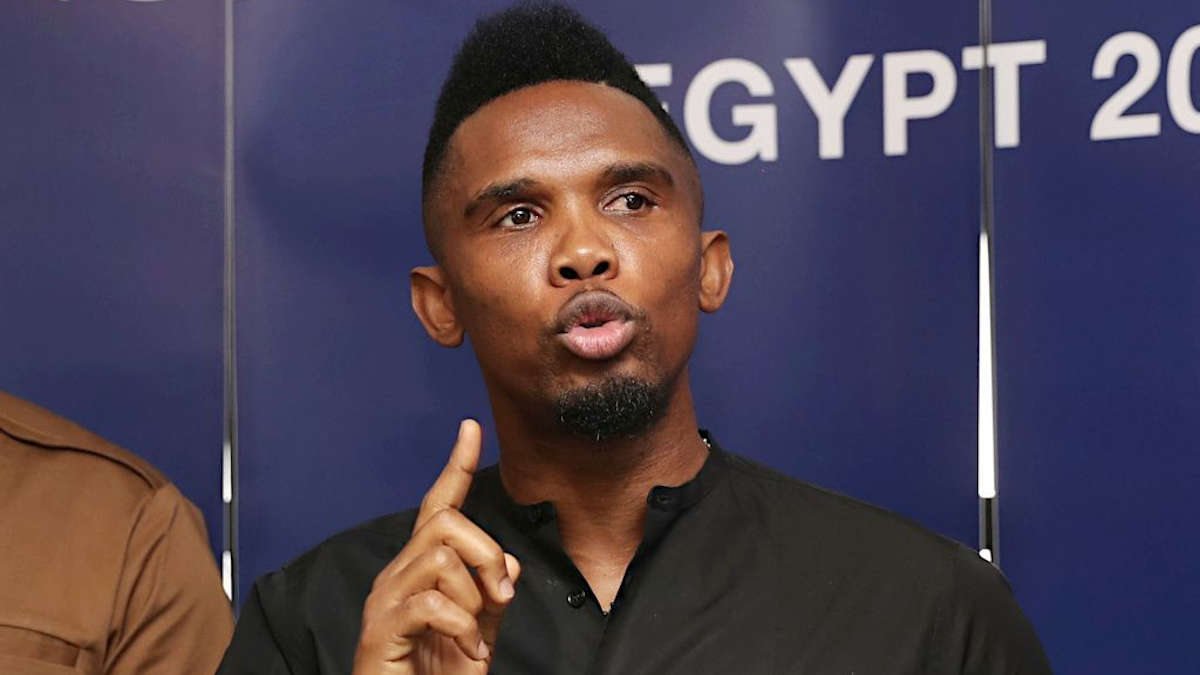Football : Samuel Eto'o pressenti en Ligue 1
