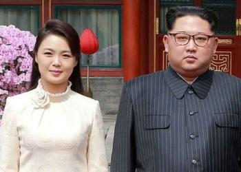 Kim Jong-un et sa femme - Photo : DR