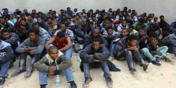 Des migrants (photo d'illustration)