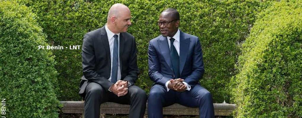 Le Bénin signe deux accords de coopération avec la Suisse à Berne